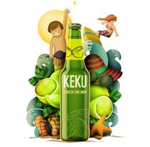 Radler Akeku - Ilustración exprés con illustrator y Photoshop. Um projeto de Ilustração de Pero... Lorena!         - 04.04.2015