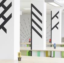 Co-working space / Canopy Structure. Un proyecto de Diseño gráfico de angelica barco - 07-04-2012