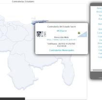 Página web de la Contraloría del estado Sucre. Um projeto de Desenvolvimento de software e Desenvolvimento Web de Christian Hernandez         - 12.04.2015
