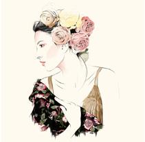 Mantón. Un proyecto de Ilustración y Moda de Natalia Escaño - 12-04-2015