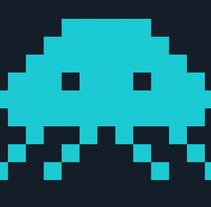 Space Invaders - Pacman. Un proyecto de Ilustración y Diseño gráfico de sergi nadal  - 13-04-2015