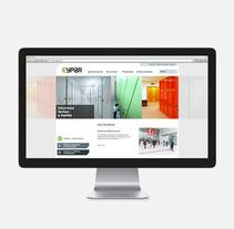 EYPAR armarios compactos. A Web Design project by Jordi Ubanell         - 14.11.2009
