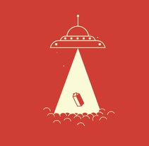 ABDUCTION. A Illustration, and Graphic Design project by Ricardo Deleòn         - 25.04.2015