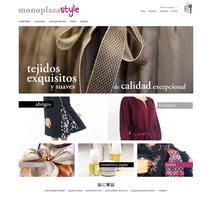 Web Monoplaza. Um projeto de Moda, Web design e Desenvolvimento Web de Alejandro Navas Sánchez         - 17.08.2015