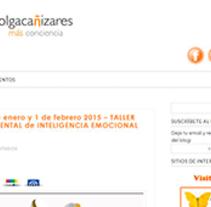 Blog Olga Cañizares. Um projeto de Desenvolvimento Web de Carlos Cuartas         - 03.05.2015