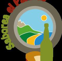 Logotipo Alimentos del Paraíso Natural. Um projeto de Design gráfico de Almudena Cardeñoso         - 04.05.2015