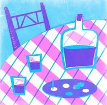 """Proyecto para """"Ilustración original de tu puño y tableta"""". Un proyecto de Ilustración y Bellas Artes de Zoraida de Torres - 21-05-2015"""
