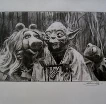 Viñetas de cine. A Illustration, and Film project by Arturo López         - 05.05.2015
