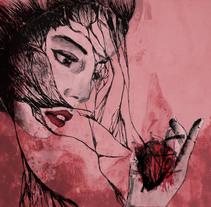 Que alguien se enamore de mi como mi muerte. Um projeto de Ilustração, Artes plásticas e Pintura de Carmina Pascual         - 06.05.2015