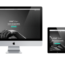 Landing page responsive.. A Web Design project by Ovidio Rey Edreira - May 19 2015 12:00 AM