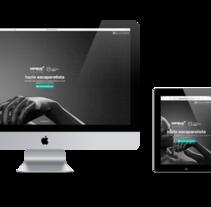 Landing page responsive.. Un proyecto de Diseño Web de Ovidio Rey Edreira - Martes, 19 de mayo de 2015 00:00:00 +0200