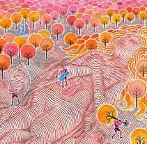 Geografía mágica. A Illustration, and Fine Art project by Carlos Arrojo         - 30.09.2010