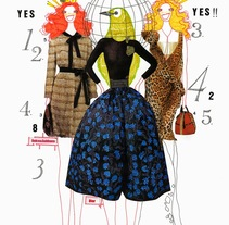 Fashion Illustration. A Design, Illustration, Br, ing, Identit, and Fine Art project by Bruno Santín         - 24.05.2015