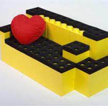 sillon lego. Um projeto de Arquitetura de diana.luz         - 27.05.2015