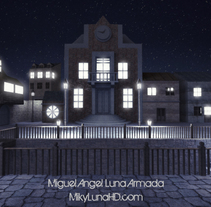 Old Town Environment. A 3D, and Architecture project by Miguel Angel Luna Armada         - 17.03.2015