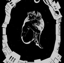 Alone in space. Un proyecto de Ilustración de Julio López - 03-06-2015
