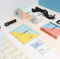 EntrePicos - Picos de Europa para principiantes . A Br, ing, Identit, Art Direction, Editorial Design&Illustration project by Eric Veiga Gullon - 06.07.2015