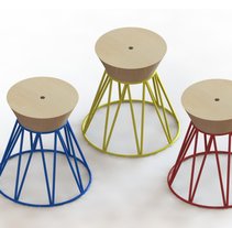 Circus  . A Furniture Design, and Product Design project by Bruna Amoros         - 08.06.2015