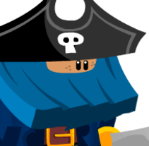 Pirates. A Animation, Game Design, and Character Design project by Juan Carlos Cruz - 06.11.2015