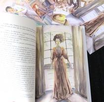 Valancy Stirling o El castillo azul. Un proyecto de Ilustración y Bellas Artes de Almudena Cardeñoso         - 10.06.2015
