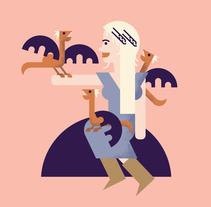 Juego de Tronos. A Illustration project by Rebeca  Cuesta - 06.14.2015