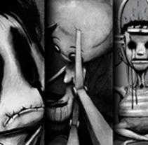 Ilustración 1 (2012). A Illustration project by Rubén C. Martín         - 15.06.2015