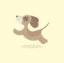 The quick brown dog. A Illustration, T, pograph, and Calligraph project by Mercè Núñez Mayoral - 17-06-2015