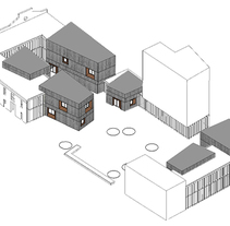 PFC (UPV) Coworking en el Cabañal. Um projeto de Arquitetura de clara careaga galbete         - 18.01.2014