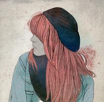 R3D Girl. Un proyecto de Ilustración y Pintura de Fende - Viernes, 10 de abril de 2015 00:00:00 +0200