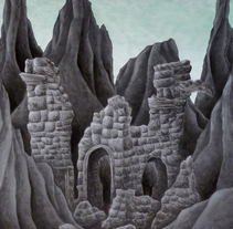 Ruins. Un proyecto de Ilustración, Bellas Artes, Paisajismo y Pintura de Marta Maldonado - 22-06-2015