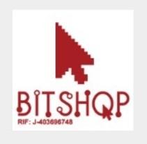 Imagen corporativa empresa Bitshop c.a y diseños para publicar los productos. Um projeto de Design gráfico de Lismary trujillo         - 24.02.2014