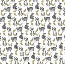 Lemurs & bananas. A Costume Design project by Almudena Cockadoodledoo         - 25.06.2015