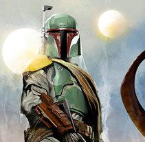 Star Wars Fan Art. A Film, Comic&Illustration project by Jose Angel Trancón Fernández - 06.27.2015
