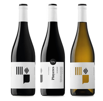 Vinos Pinyeres. A Graphic Design, and Packaging project by Atipus  - 06.29.2015