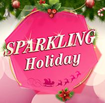 Sparkling Holiday. Un proyecto de Publicidad de Adriana Castillo García         - 16.01.2015