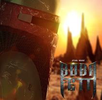 Boba Fett. A Film, Video, TV, 3D, and Graphic Design project by Enrique Núñez Ayllón         - 26.10.2014