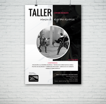Cartel Taller del Actor Kike Inchausti. A Design, and Graphic Design project by Alfredo Moya - 07-07-2015