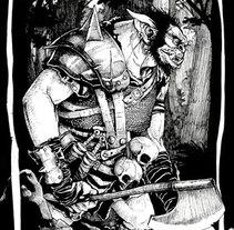 Ilustración Bugbear. Un proyecto de Ilustración de Martín Enrique Pelozo         - 11.07.2015