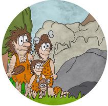 """Ilustraciones del libro """"La historia de Nelu y su familia"""". Un proyecto de Ilustración de Cristina Saiz López         - 08.12.2014"""