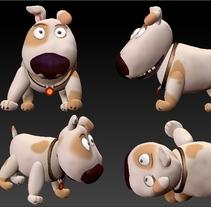 Modelado de personajes Tadeo Jones. Um projeto de 3D e Design de personagens de Alberto Sánchez Bermejo         - 21.01.2013