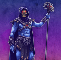 Skeletor. A Illustration project by Rubén Megido - Jul 27 2015 12:00 AM