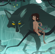 Mowgli. A Illustration project by Àlex  Monge - 27-07-2015