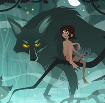 Mowgli. Un proyecto de Ilustración de Àlex  Monge - Martes, 28 de julio de 2015 00:00:00 +0200