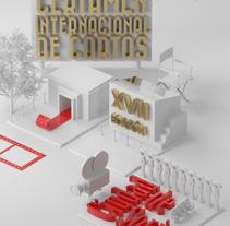 Certamen de Cortos Ciudad de Soria | Mi Proyecto del curso Dirección de Arte con Cinema 4D. Um projeto de 3D de albertroura96 - 12-07-2015
