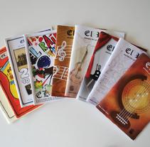 El Raïm Magazine. A Editorial Design project by Àngels Pinyol         - 28.05.2008