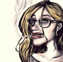 Portraits. Un proyecto de Ilustración de Andrea Sacchi         - 06.08.2015