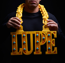 LUPE NWA. A Design, Art Direction, Graphic Design, Packaging, Product Design, Sculpture, T, and pograph project by Miguel Lloret - Sep 10 2015 12:00 AM