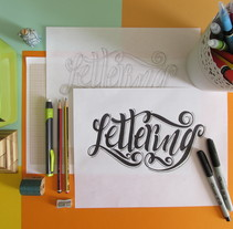 Lettering. A Art Direction, Design, Photograph&Illustration project by Madelin  Rodríguez Valerio - 08.21.2015