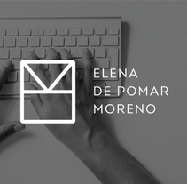 Personal Branding. A Art Direction, Br, ing, Identit, and Graphic Design project by Elena de Pomar Moreno         - 28.08.2015