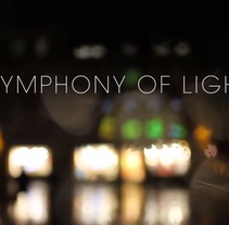 Symphony of Light - Juego proyectado en un edificio durante el festival de luz Illuminate Bath 2015. A Game Design, Graphic Design&Interactive Design project by Diego García de Enterría Díaz - 30-08-2015